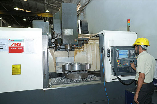 vmc milling machine